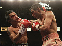 Manny Pacquiao and Erik Morales