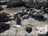 The site of a suspected ancient perfume factory in Cyprus