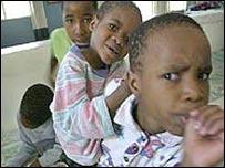 کودکان مبتلا به ايدز در آفريقای جنوبی