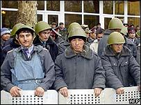 Police in Osh