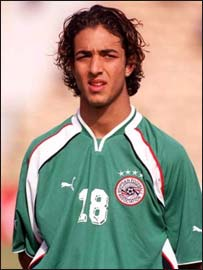 Egypt and Tottenham Hotspur striker Ahmed 'Mido' Hossam