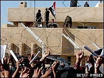 Jordanian embassy in Baghdad, 18 March 05
