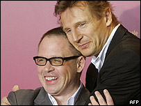 Bill Condon and Liam Neeson