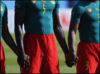 Cameroon's controversial one-piece kit