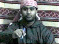 Mohammad Sidique Khan in a video message aired after the 7 July bombings