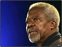 United Nations Secretary General, Kofi Annan