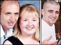 Lesley-Ann Morgan with fiancé Neil Jenkins; Andrew Corbett