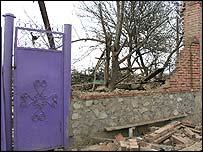 House where Maskhadov was found