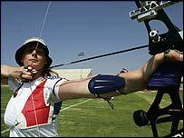 Olympic archer Naomi Folkard