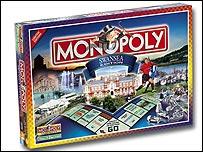 Fersiwn Abertawe o Monopoly