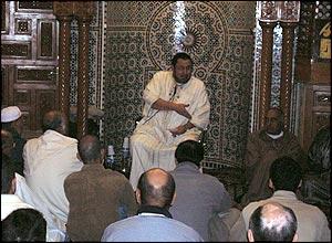 Khalil Merroun preaches