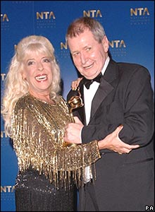 Julie Goodyear and Tony Warren