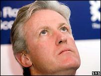 Scotland coach Matt Williams could do with some divine intervention
