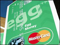 Sign for Egg card