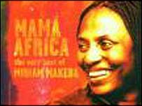 CD cover for Mama Africa - The Very Best Of Miriam Makeba (Label: Manteca)