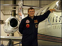 Engineering officer Dave Haskell
