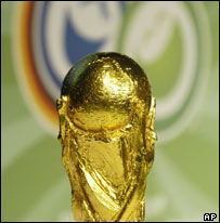 World cup trophy, AP