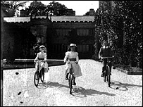 Agar-Robartes children at Lanhydrock House: Courtesy National Trust