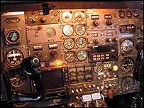 Learjet panel