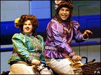 David Walliams and Matt Lucas rehearse Little Britain Live