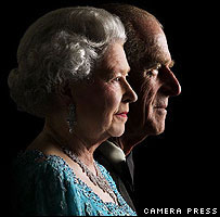 The Queen and Prince Philip.  By Patrick Lichfield