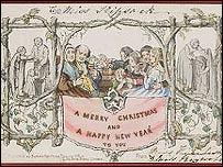 1843 Christmas card