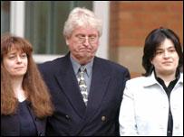 Naomi, Victor and Xanthe Bates