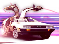 DeLorean graphic