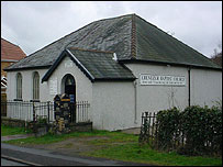 The chapel in Pengam where the clinic will be held