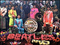 Album cover of The Beatles' Sergeant Pepper