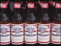 The US Budweiser beer