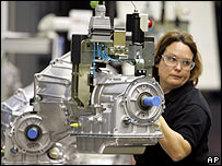 GM production line worker