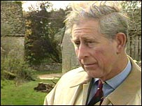 Prince Charles at Home Farm