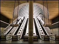 Canary Wharf Jubilee Line station
