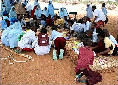 Biblioteca ambulante de Kenia