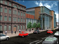 School of Tropical Medicine extension - artist's impression