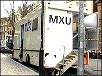 The mobile digital screening van