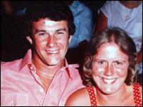 David and Jennifer Harris in happier times