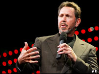 Oracle boss, Larry Ellison
