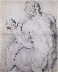 Centaur tormented by Cupid - Copyright Rheinisches Bildarchiv, Cologne