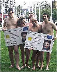 Anti-ID card campaigners