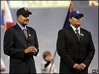 Juan Marichal y Fernando Valenzuela