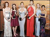 The female cast of US show Desperate Housewives