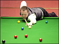 Preston Grand Prix winner John Higgins