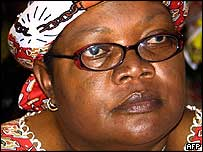 Zimbabwe's Vice-President Joyce Mujuru (AFP/Getty Images)