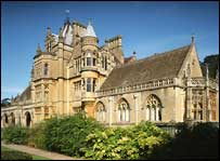 South Front and Chapel of Tyntesfield - NTPL/Andrew Butler