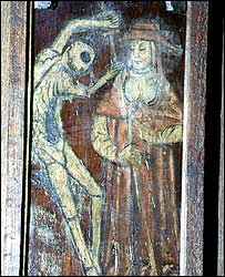 Medieval illustration of the Black Death