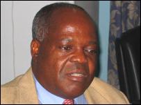 Sylvestre Mbongo, chairman of the Congo Football Federation