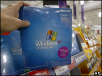 Microsoft's Windows software package