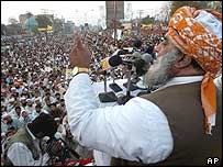 Maulana Fazlur Rahman, head of the religious MMA alliance